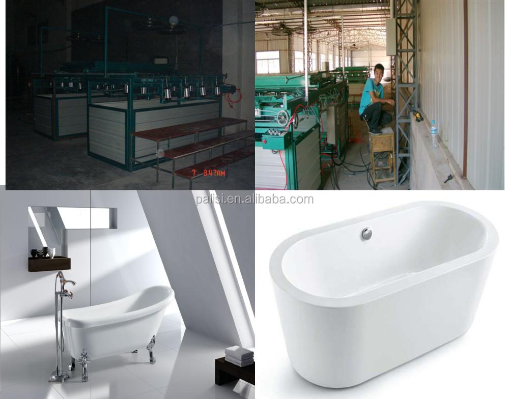 Acrylic bathtub forming making thermoforming machine for Best acrylic bathtub to buy