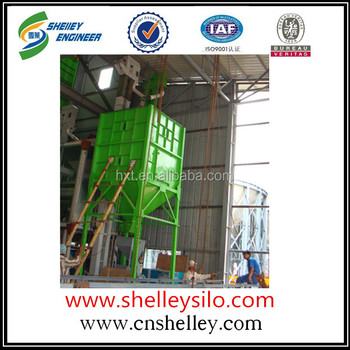 Assembly grain feed square silo price