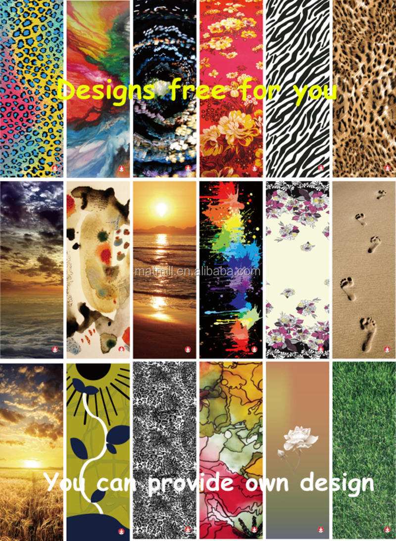 Any Pattern Printed Yoga Mat 351df03c2689