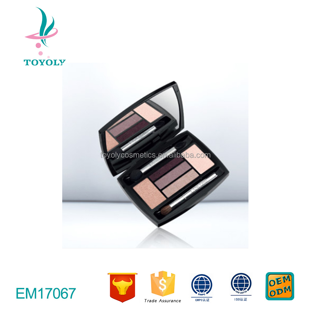 5 Shadow/Liner Color Design Palette for Women,2.7g