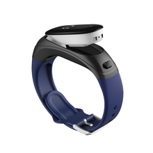 Shenzhen 2 in 1 auricolare wearable inseguitore di fitness <span class=keywords><strong>braccialetto</strong></span> <span class=keywords><strong>intelligente</strong></span> parlare band con assistente vocale