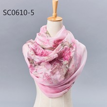 newest wholesale 100 pure square silk scarf manufacturing