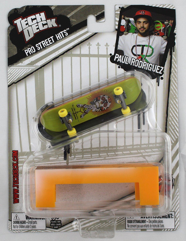 8b56c7dac5c25 Get Quotations · 1 TECH DECK 96mm FINGERBOARD - PRO STREET HITS - PAUL  RODRIGUEZ S by Paul Rodriguez