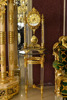 Rare Antique French Gold Gilt Ormolu Ornate Mantel Pendulum Table Clock