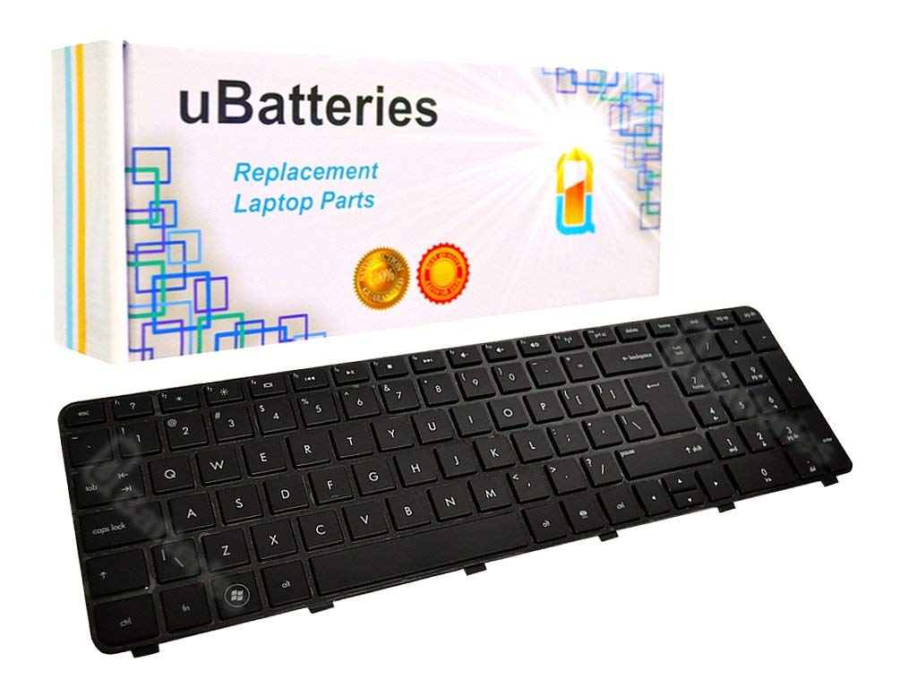 UBatteries Compatible Laptop Keyboard Replacement For HP Pavilion dv7-6135dx