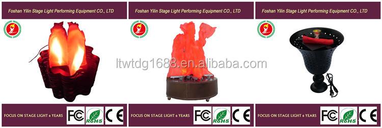 Yilin Africa Hot Sale Outdoor Bonfire Silk Led Flame Light For ...