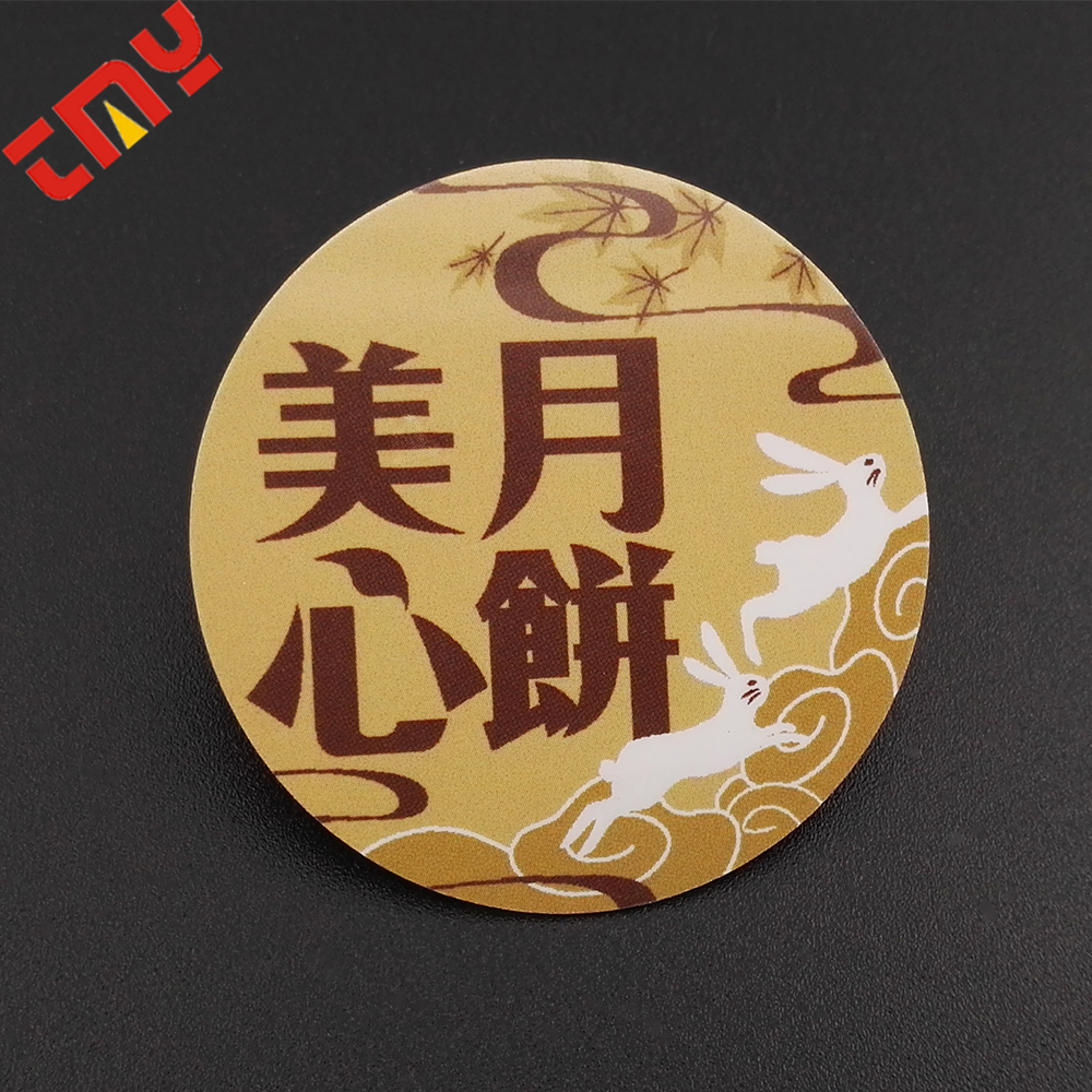 Hot Sale Printing Plastic Button Badge With Clip For Gift Promotion