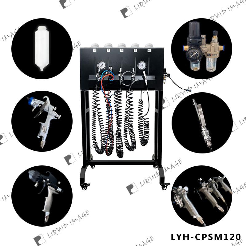 silver mirror chrome plating machine & single spray gun & spray chrome kit nano chrome on wood, stone, plastic , metal, Acrylic