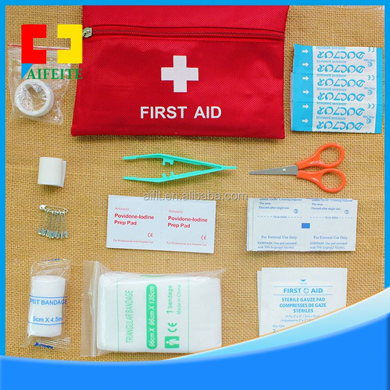 Good suppliers in producing camping mini First aid kit wholesale