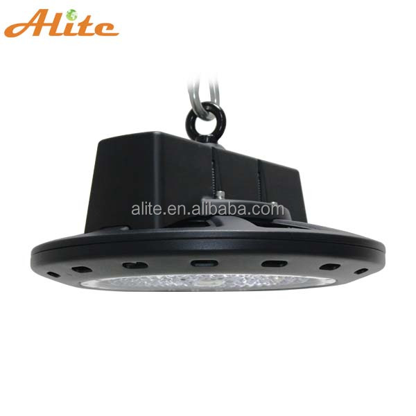 AliteLED NEW arrival SMD3030 140lm/w UFO LED High Bay Light 150W highbay replace 400w HID