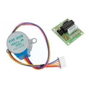 28YBJ-48 DC 5V 4 Phase 5 Wire Stepper Motor With ULN2003 Driver Board.