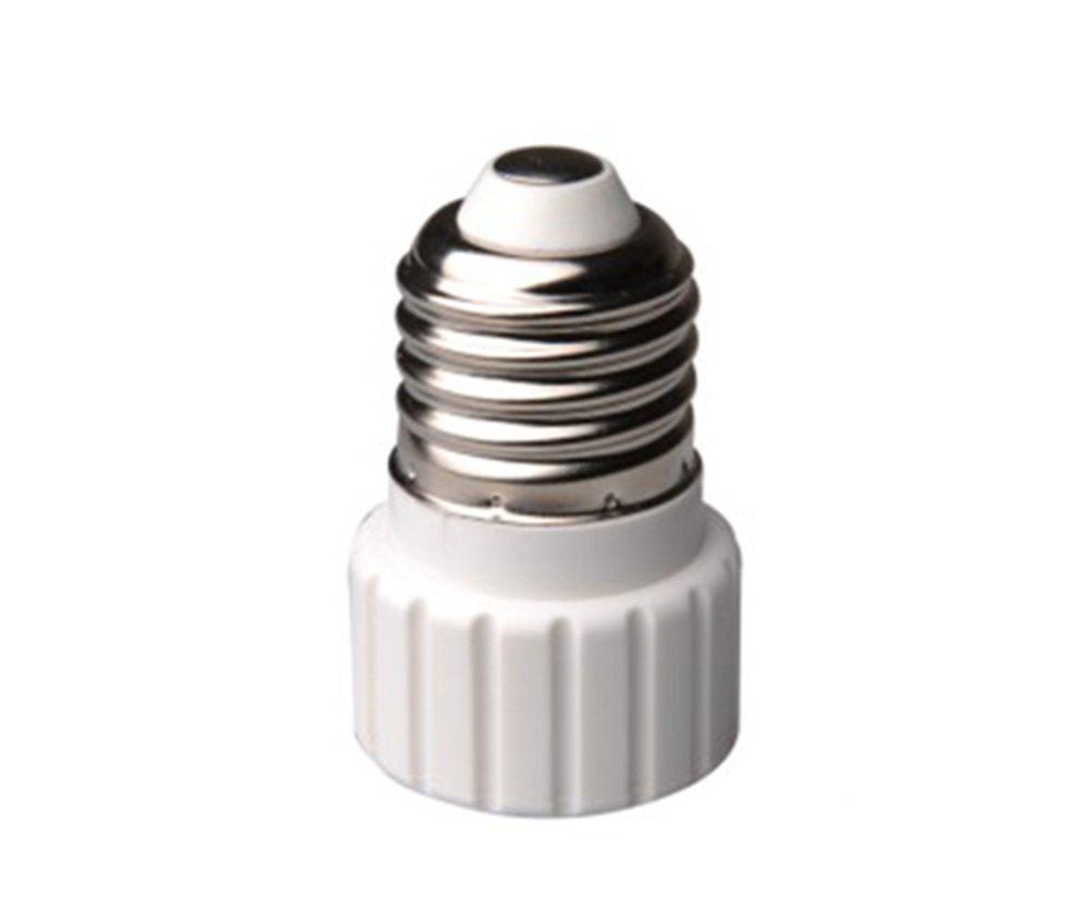 E-simpo®15-pack E27 to Gu10 Adapter, E27 to Gu10 Lamp Base Converter, Z1014