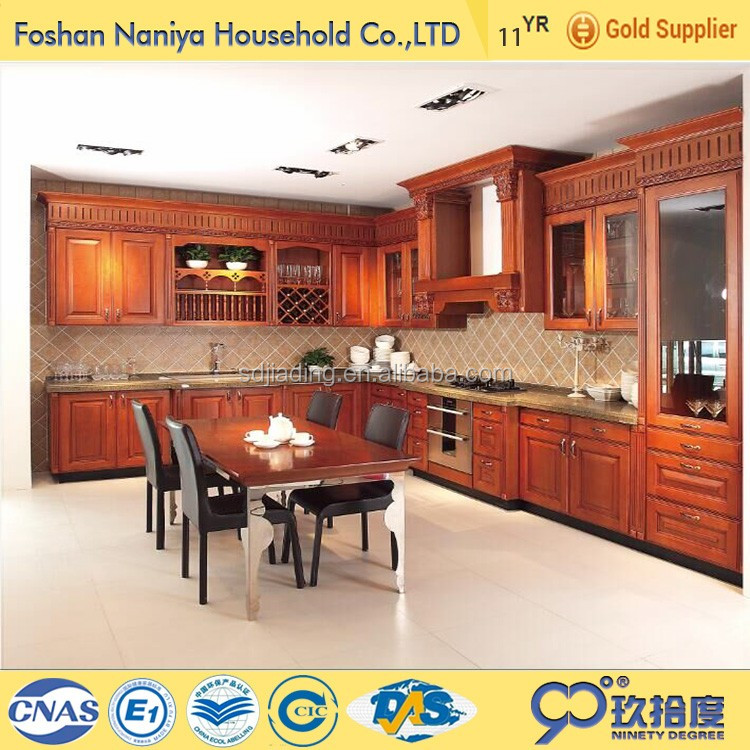2016 egger solid wooden kitchen cabinet binding materials in construction