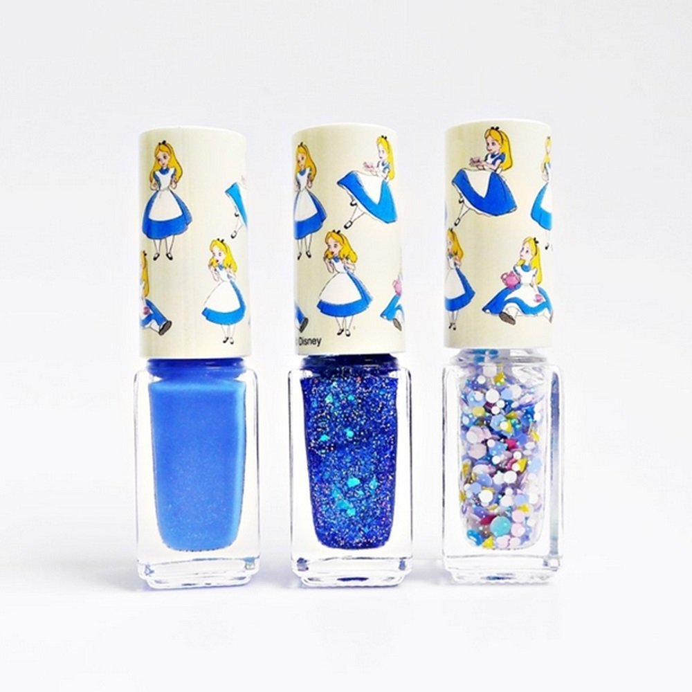 KOREAN COSMETICS, LG Household & Health Care-[Beyond][Beyond] Alice in Glow Gradation Nail Kit Limited Edition 4ml*3[001-mi]