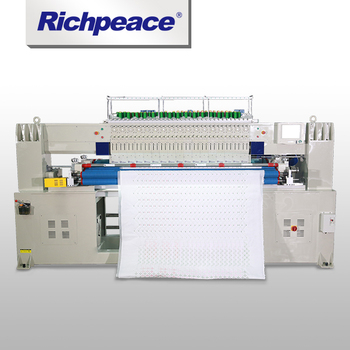 Dual Needle Row Quilting & Embroidery Machine