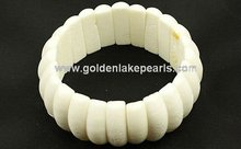 White Coral Bridge Style Bracelet Fashion Bracelets(SL34222)
