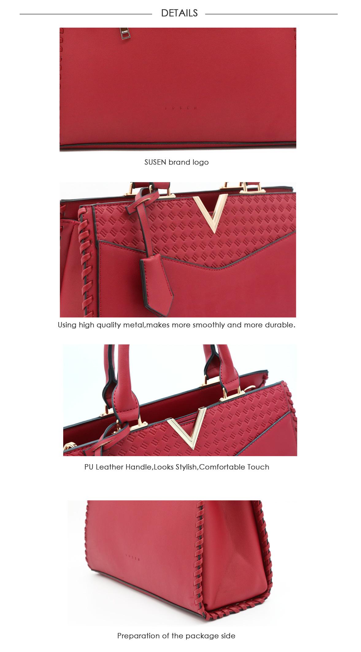 9fa0a3c7ab8e 2018 China supplier custom designer leather satchel bags women handbags