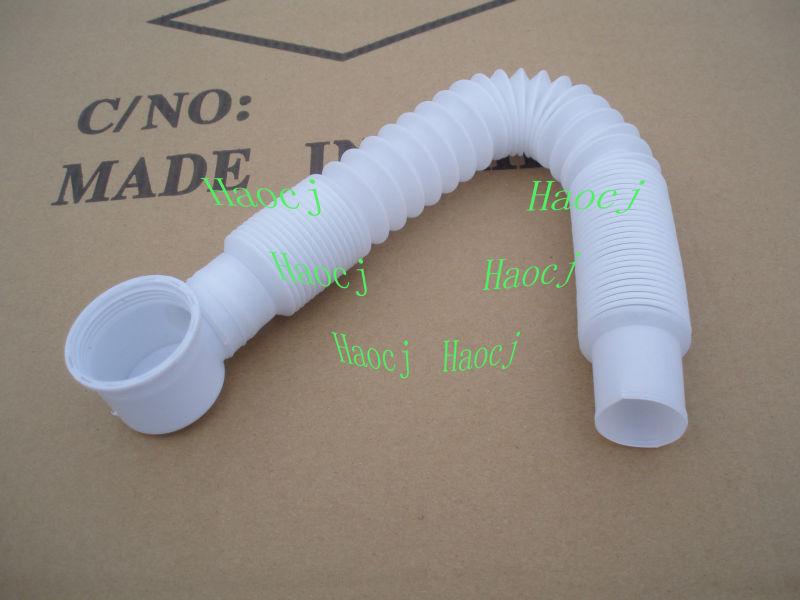 Bathtub Drain Cleaning Flexible Pipe Bathroom Flexible Drain Plastic Pipe For Sink Drain Hose