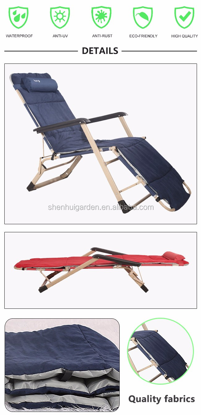 2018 cheap camping outdoor metal garden beach folding chairs with canopy