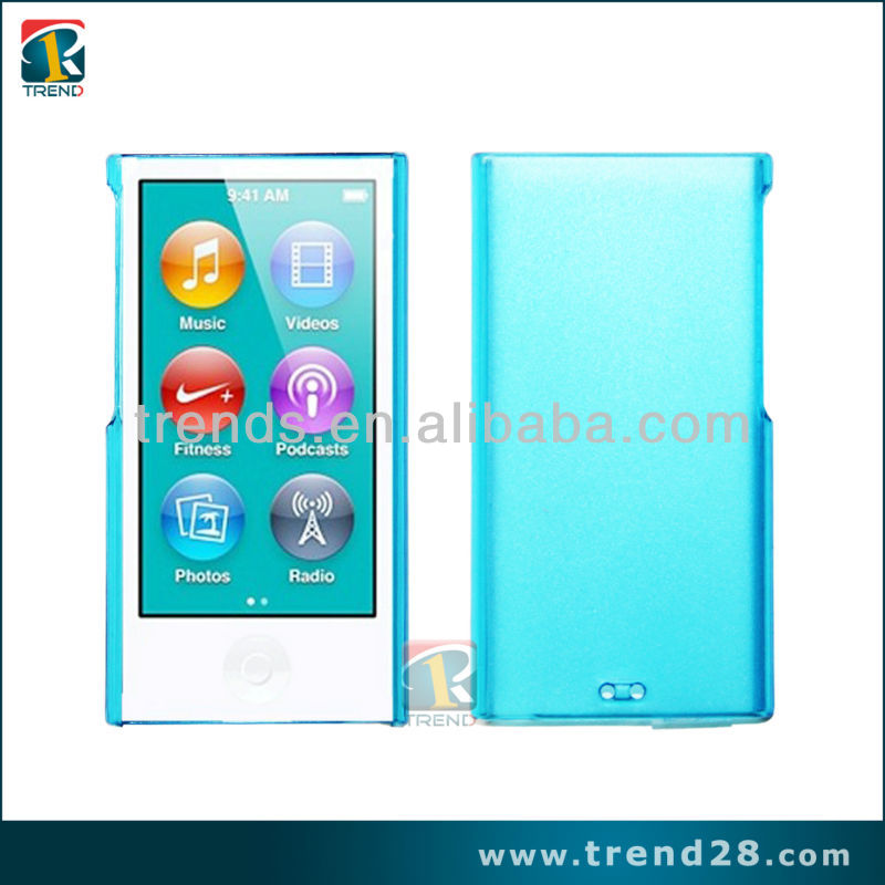 Clear Crystal hard Case Cover for iPod nano 7