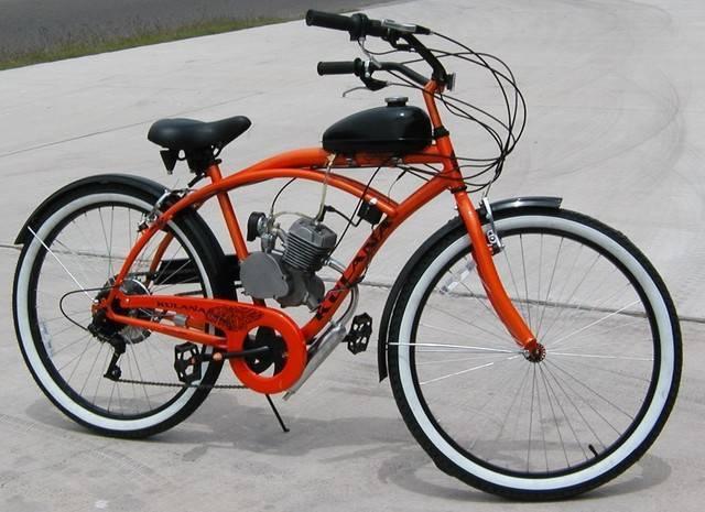 80cc Bike Engine Kit Chrome 2-stroke Moped Bicycle Engine Kit ...