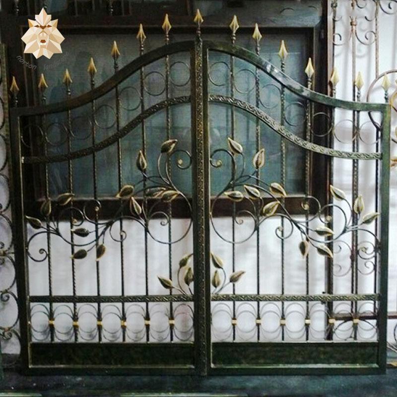 Wrought Iron Gates Antique Garden