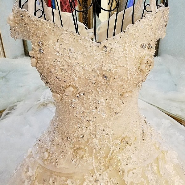 Rhinestone Wedding Dress, Rhinestone Wedding Dress Suppliers and ...