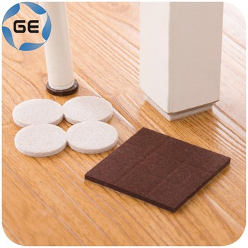 Quality Table Leg Pads Adhesive Furniture Leg Feet Non Slip Rug Felt Pads  Protetcors Anti Slip