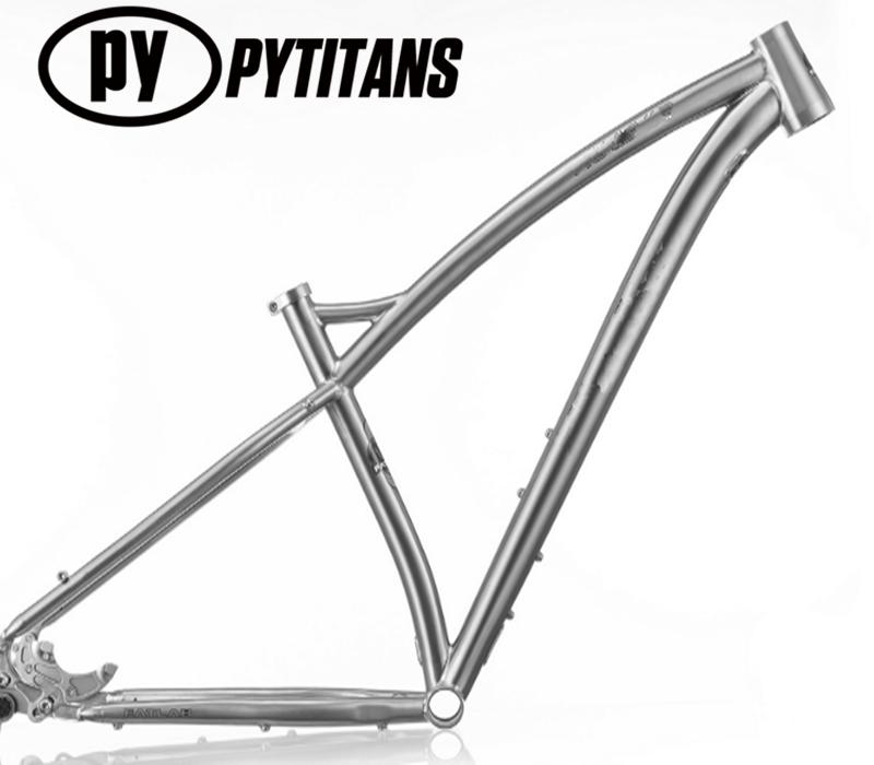 Top Quality Full-suspension Titanium Mountain Bike Frame - Buy ...