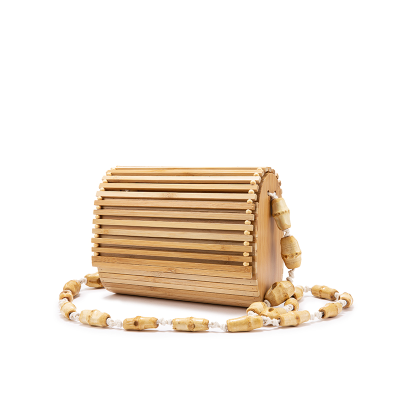 Женская бамбуковая сумка LOVEVOOK, дизайнерская сумка через плечо из дерева на лето 2020(Китай)
