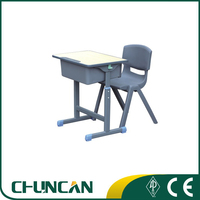 children study table and chair school furniture student desk and chair