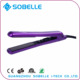 Online sales new fast heater 2017 Titanium innovative product digital LCD display hair straightener