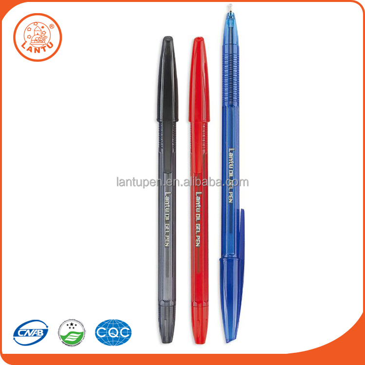 Lantu LT990B High Quality Cheap Students Stationery Oil Gel Pen For Factory Supply