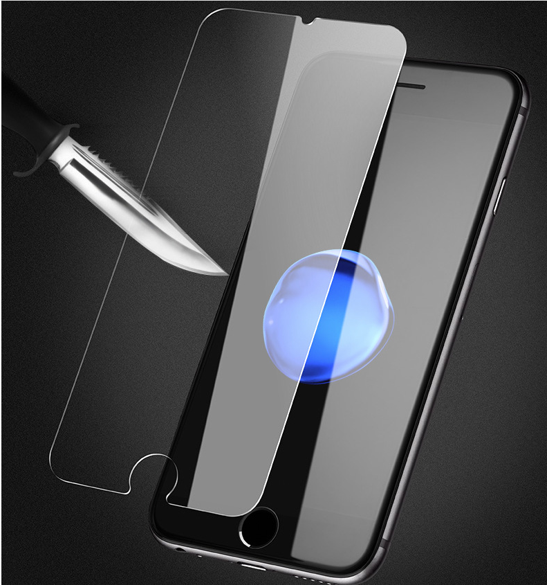 Simple Design Tempered Glass Screen Protector for Mobile Phones 9D Hardness Fingerproof Screen Protector