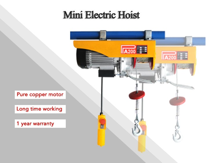 HTB14YYsLpXXXXbhXpXXq6xXFXXXI pa mini electric wire rope hoist 500kg pa600 building portable  at soozxer.org