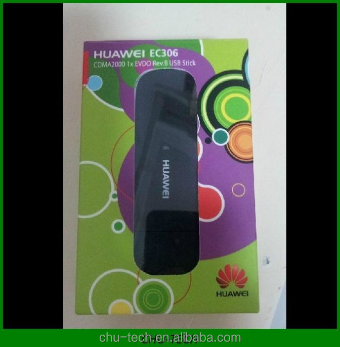 Unlocked Huawei EC306 Data Card ECDO Rev.B CDMA1X 3G wireless modem Upto 9.8 Mbps CDMA (Evdo) 800 MHz