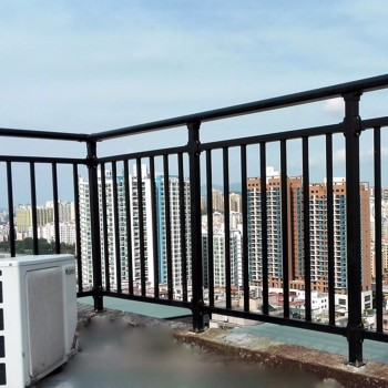 Factory price balcony steel grill designs terrace railing for Terrace design with grills
