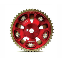 transmission and drive train adjustable cam gear, steel cam gear pulley