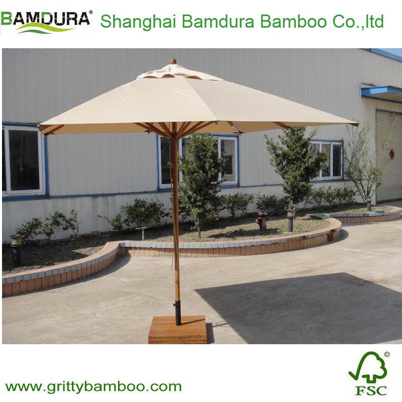 Finden Sie Hohe Qualität Outdoor Bambus Schirm Hersteller und ...