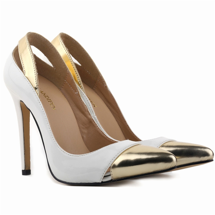 2015 Stiletto Designer Sexy Pointed Toe Women Pumps Platform High Heels Ladies' Wedding Party Dress Shoes OL Office Work Shoes