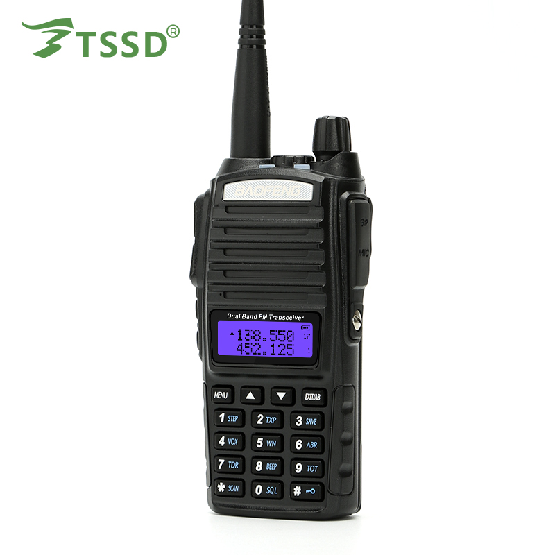 Baofeng Walkie talkie 500 km uv-82plus am fm ssb cb radio/walkie talkie com mensagens de texto