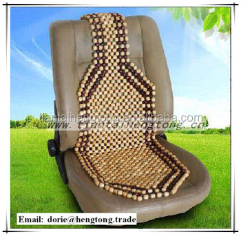 2016 Alibaba Wooden Bead Car Seat Mat Coversummer Cushion