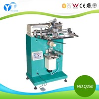 YT-Q250 Semi-automatic Curved Surface Glass Bottles Screen Printing Machine