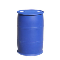 100% HDPE 200 liter plastic barrel drums bucket for chemicals packing