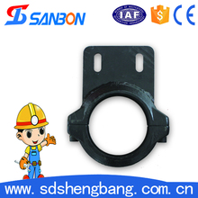 DN125 steel concrete pump pipe bolt clamp coupling