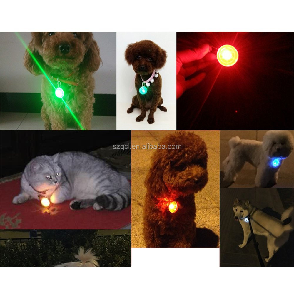 Pet Items Flashing Dog Items Glowing Cat Items Easily Attached to Pet's Collar