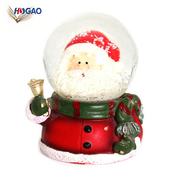 Wholesale Oem Cheap Kids Gift Christmas Santa Claus Snow Globe Custom Snowball Globe View Custom Snowball Globe Hg Product Details From Quanzhou