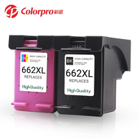 Hot Sale H 2545, 2645, 3545, 4645 Inkjet Printer Cartridge 662XL Remanufactured Ink Cartridge