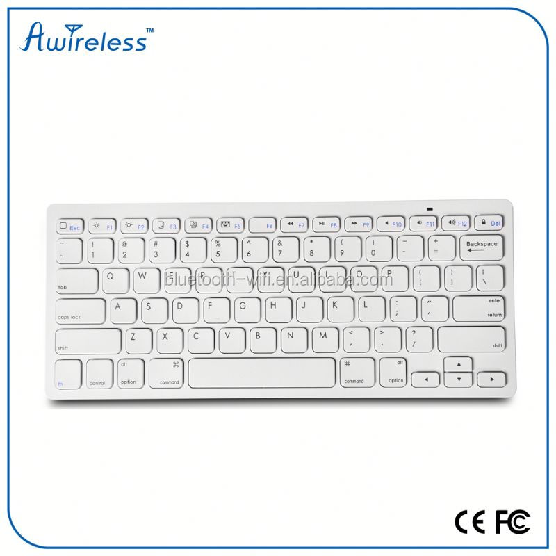 2015 Hot New Ultra Thin Universal Wireless Bluetooth Keyboard for Android ISO Windows Tablet PC