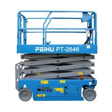10 เมตรไฟฟ้า SCISSOR LIFT HYDRAULIC LIFT SELF PROPELLED LIFT